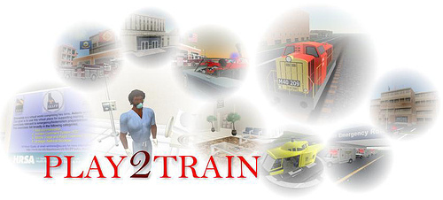Logo for Play2Train