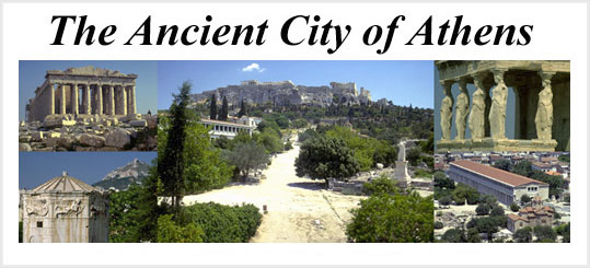 Logo for The Ancient City of Athens