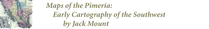 Logo for Maps of the Pimeria: Early Cartography of the Southwest