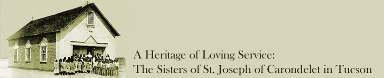 Logo for Heritage of Loving Service:The Sisters of St. Joseph of Carondelet in Tucson