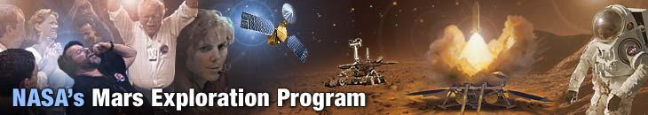 Logo for NASA RESOURCE DRIVEN INSTRUCTION: TARGET MARS!