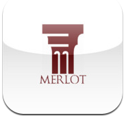 Logo for MERLOT OER Search App for iOS
