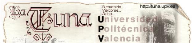 Logo for La Tuna - Universidad Politécnica Valencia
