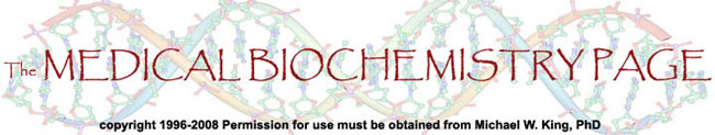 Logo for The Medical Biochemistry Page